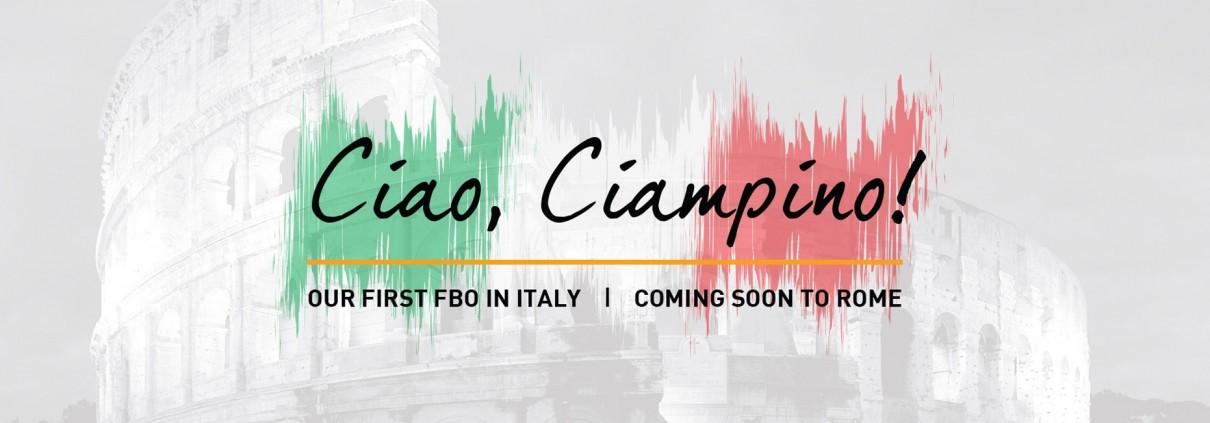 FBO at Rome Ciampino