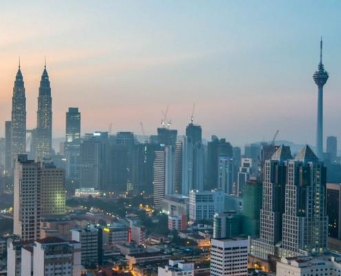 Flying to Kuala Lumpur