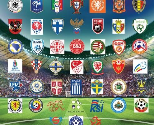 UEFA Cup - Teams logos