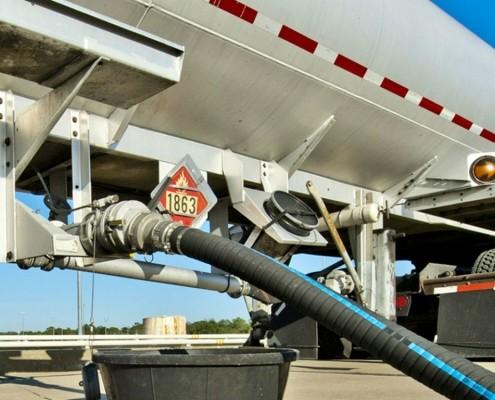 Aviation Fuel Truck