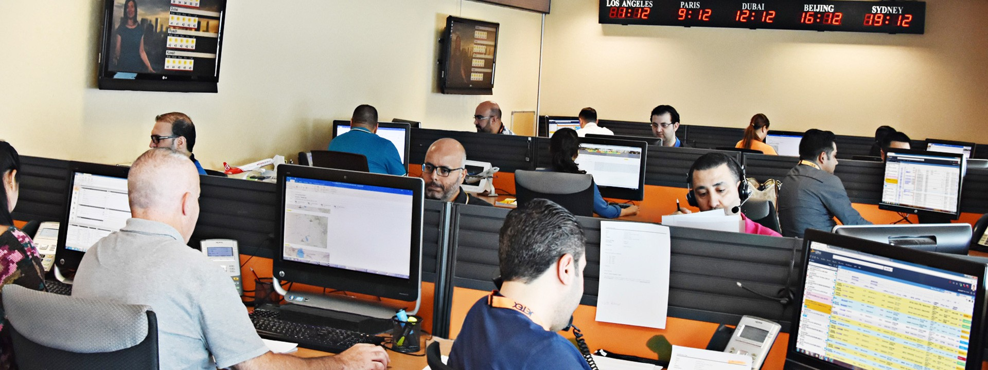 Dubai UAE Operations Center DXB OMDB