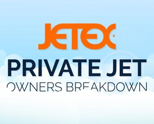 Private Jet Inforgraphic Banner