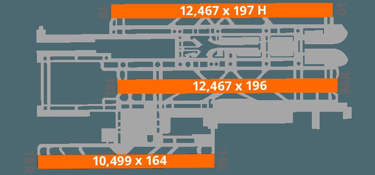 Beijing Airport Diagram Runway