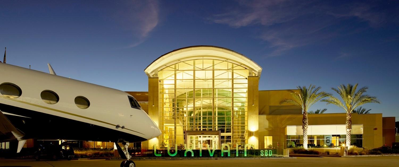 Jetex FBO San Bernardino California Luxivair