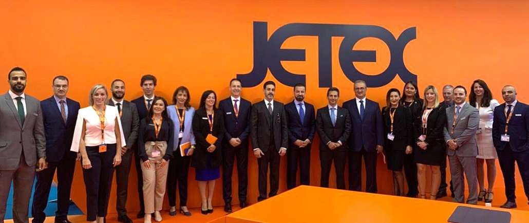 Jetex team at EBACE